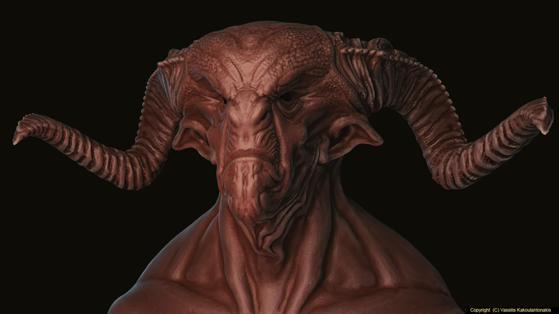 Demon Sculpt