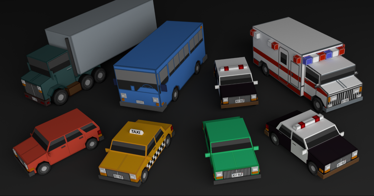 Simple Car Assets for Unity
