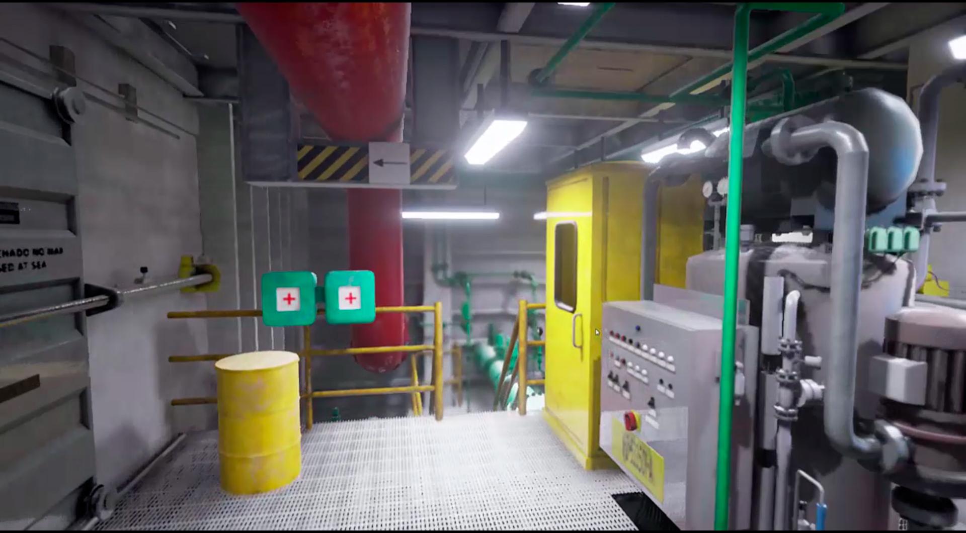 PC VR Oil Platform