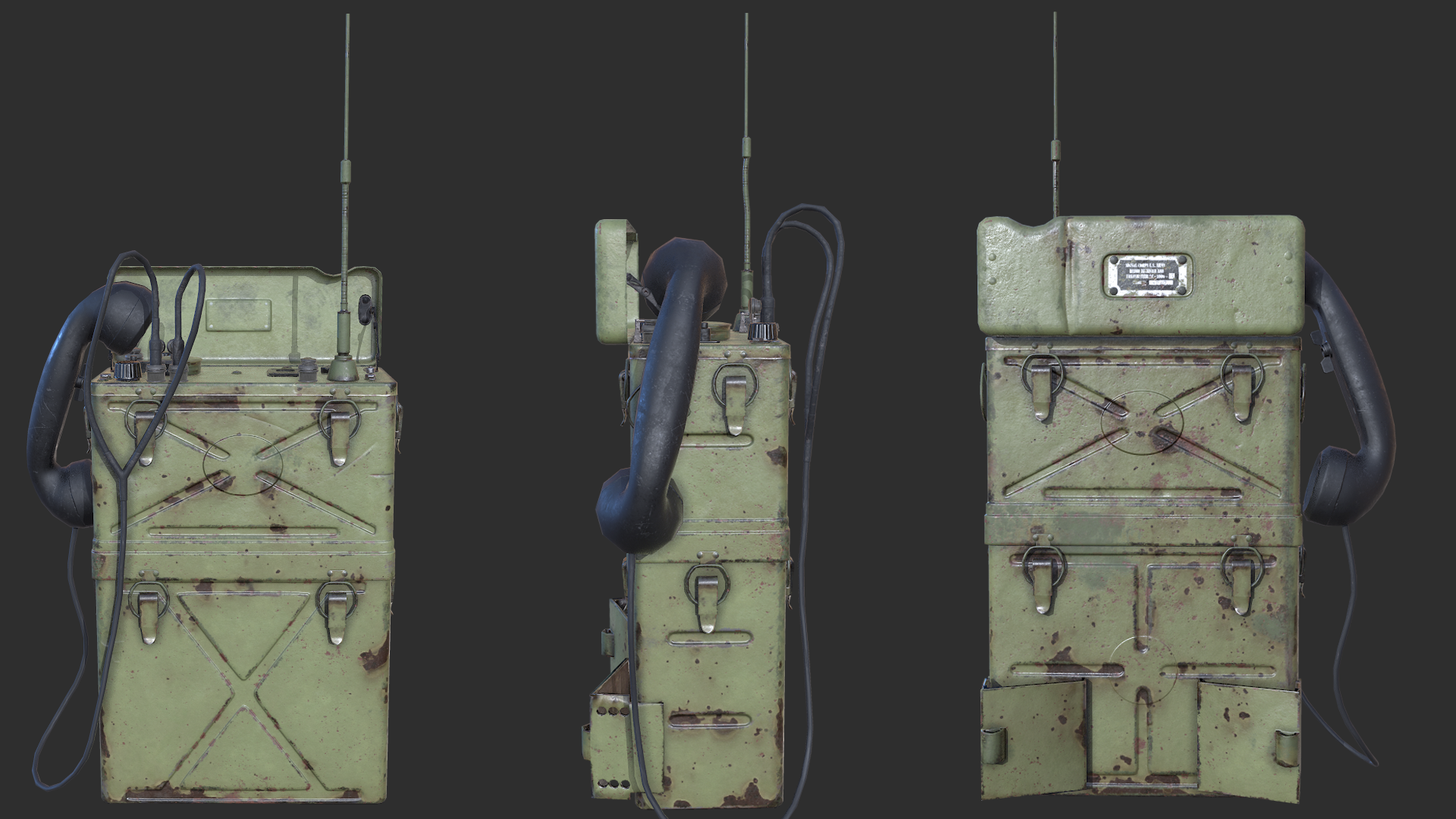 SCR 300 WW 2 Radio