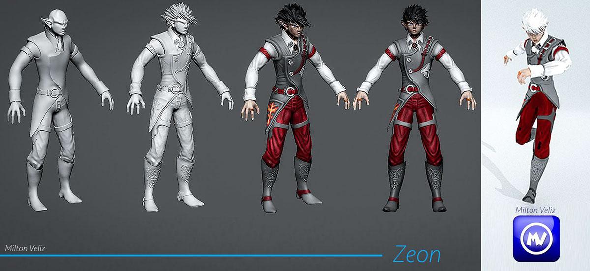 Zeon - Character Design