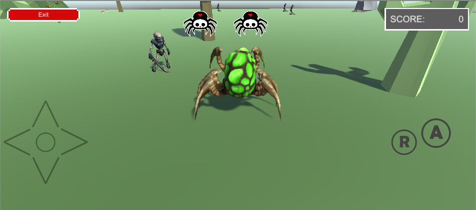 Simple Spider Game