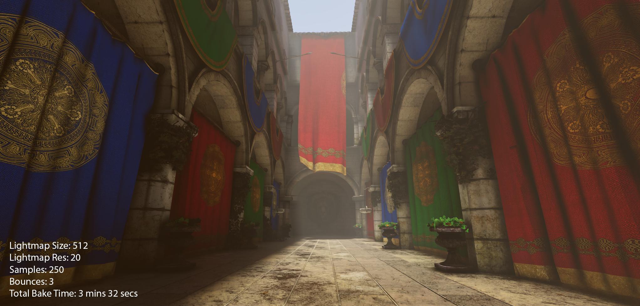 Unity 5.6 Beta Progressive Lightmapper Test