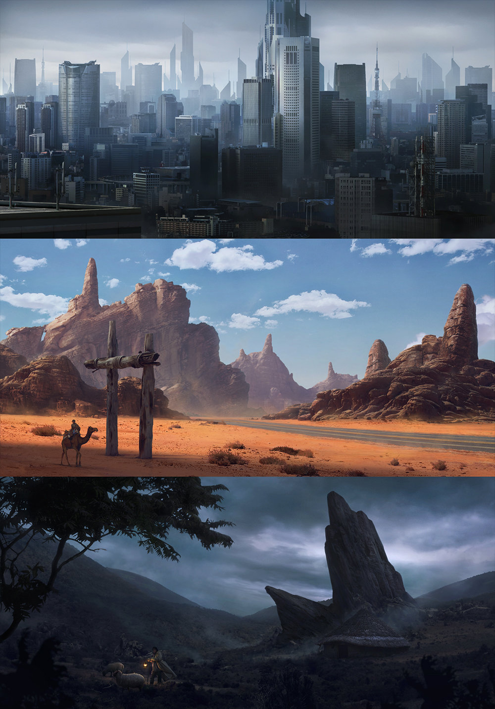 Matte Painting Examples