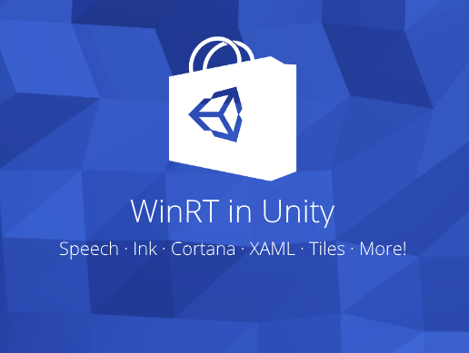 Use WinRT / UWP API in Windows Store Apps. A component for the Unity Asset Store
