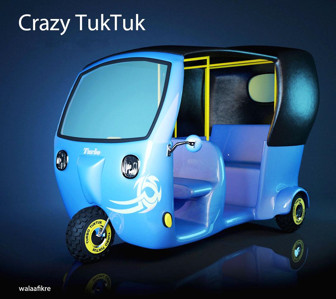 Crazy Tuktuk
