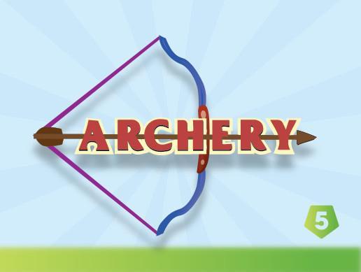2D Archery Bow & Arrow