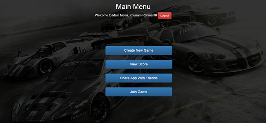 Social Car Racing