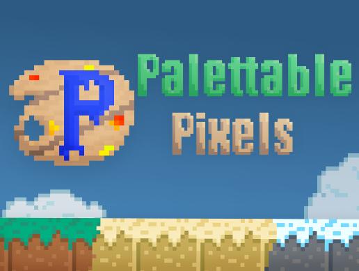 Palettable Pixels - Retro Sprite Tools