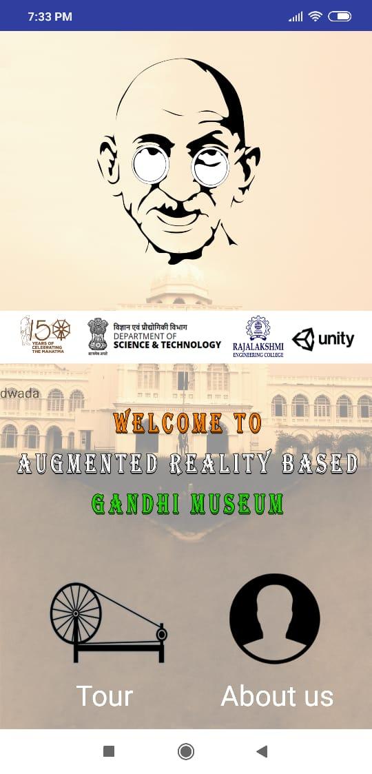 Madurai Gandhi  AR Museum #150th celebration