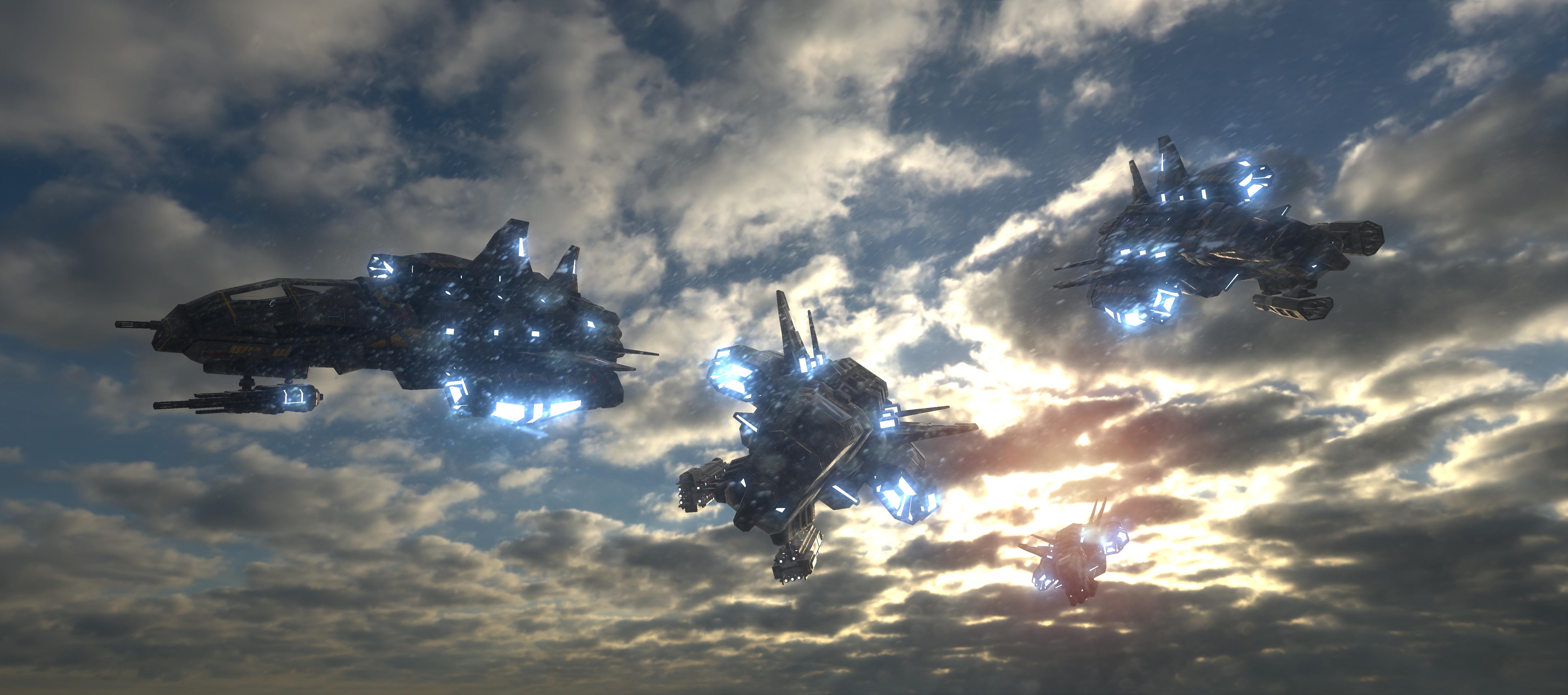 Forgotten Star 3D Concepts
