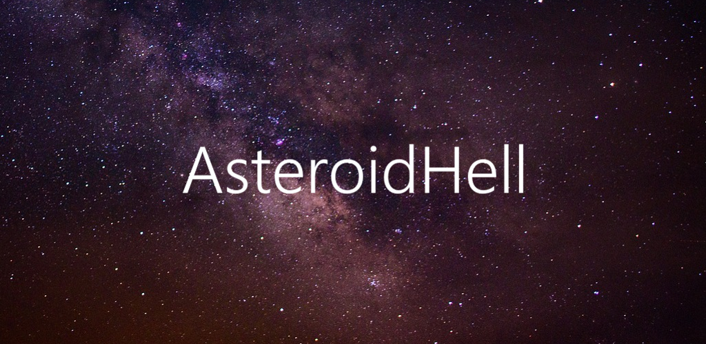 Asteroid Hell - a final version of Space Shooter