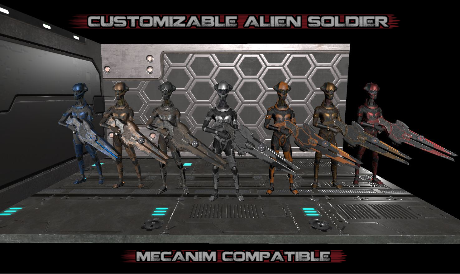 Customizable Alien Soldier