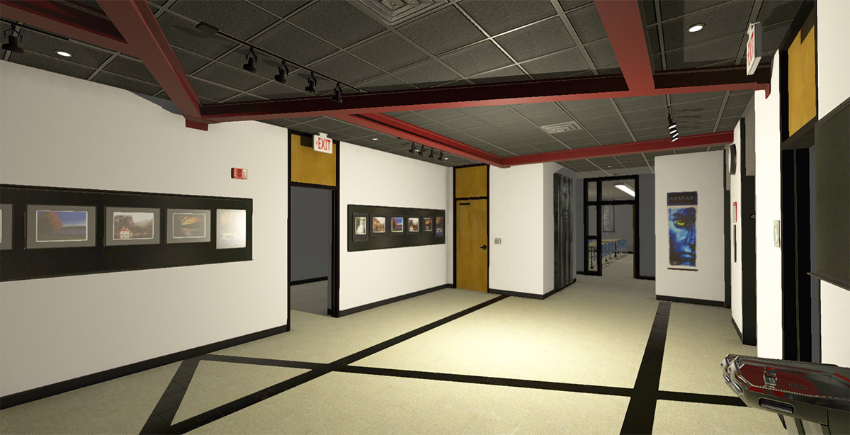 CSCC Eibling Hall 4th Floor in Unity