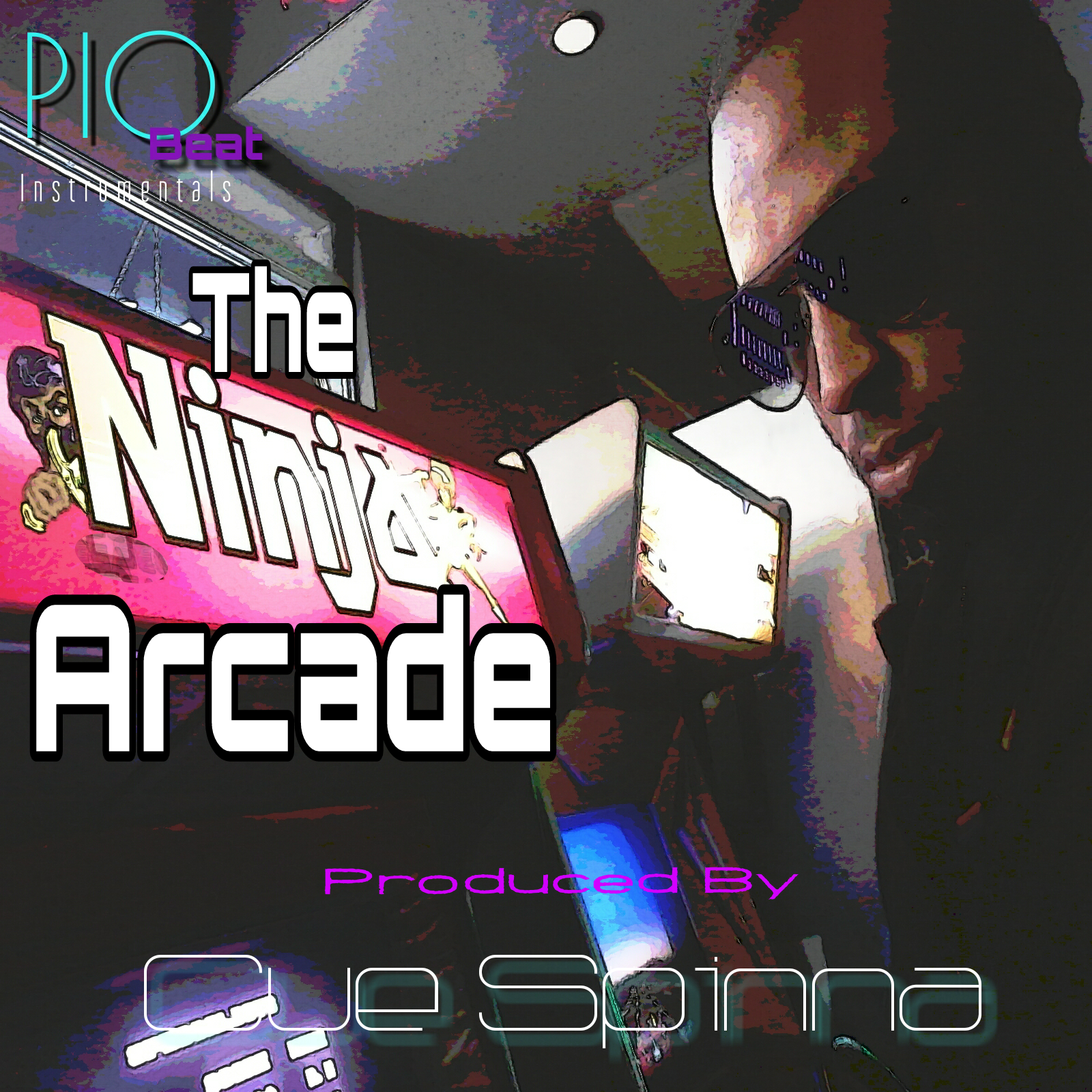 'The Ninja Arcade' Instrumental LP