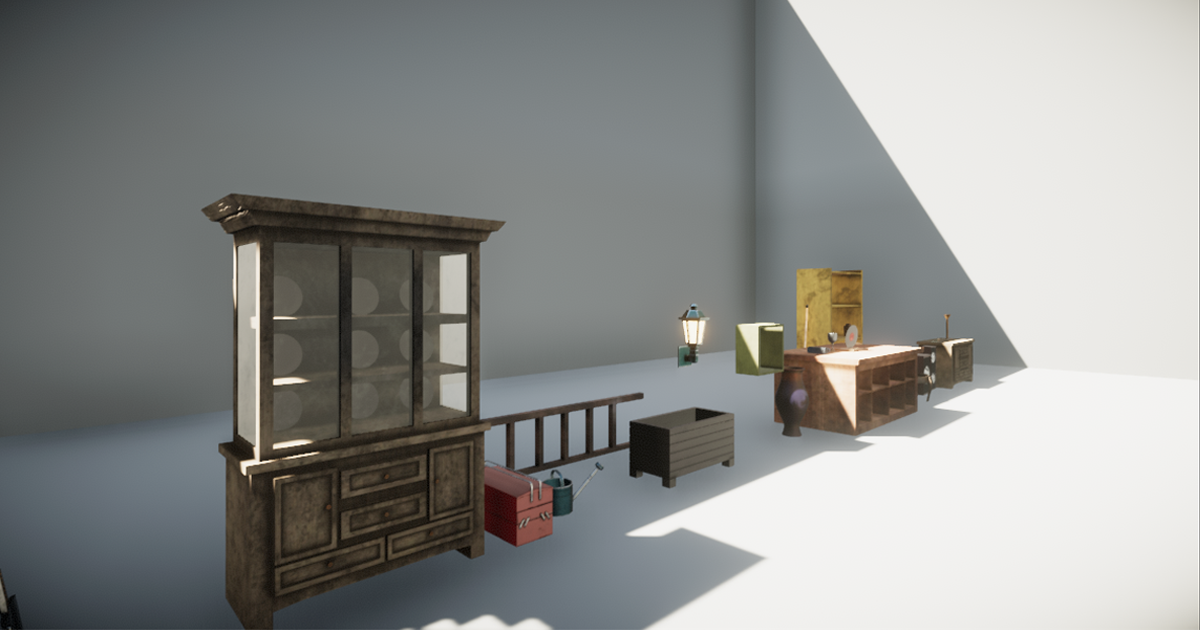 HQ Furniture Pack N°1