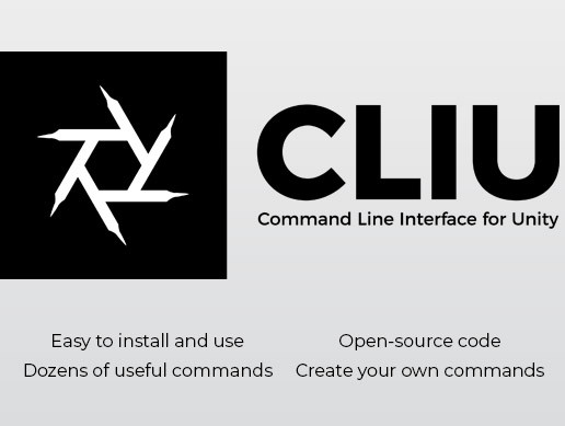 CLIU - Command Line Interface for Unity