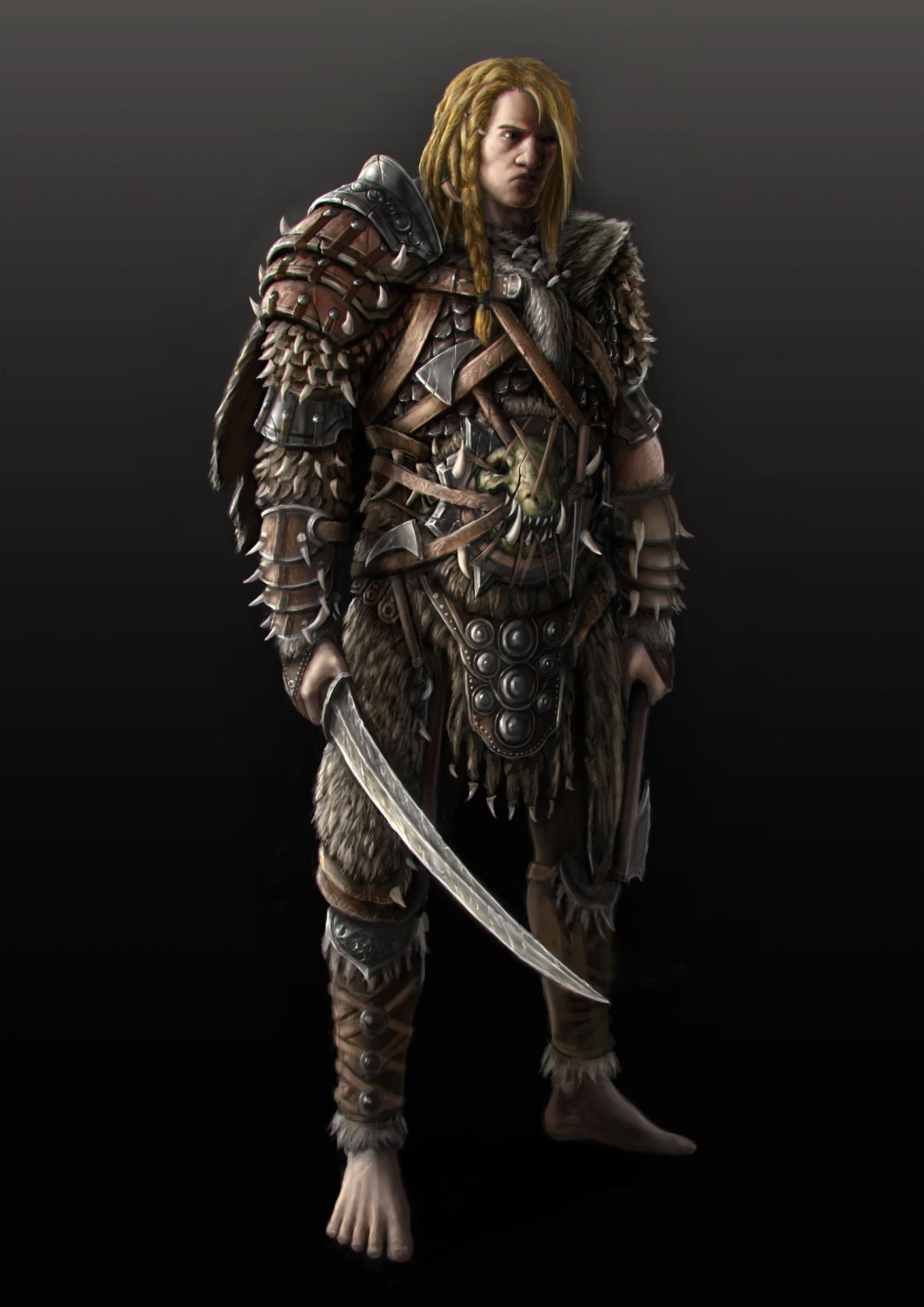 Barghast Warrior