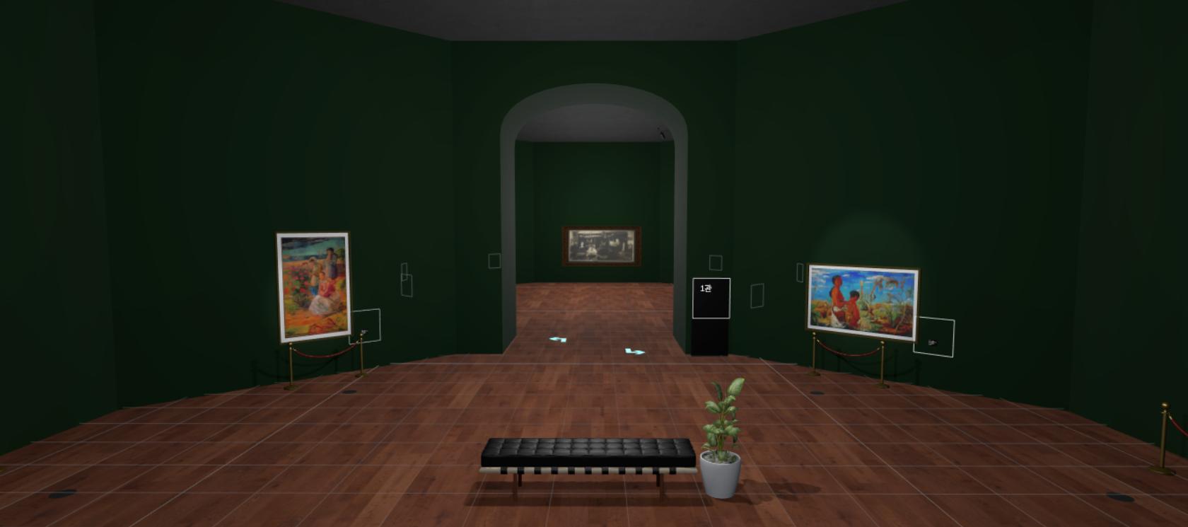 이인성 VR_Art_Gallery