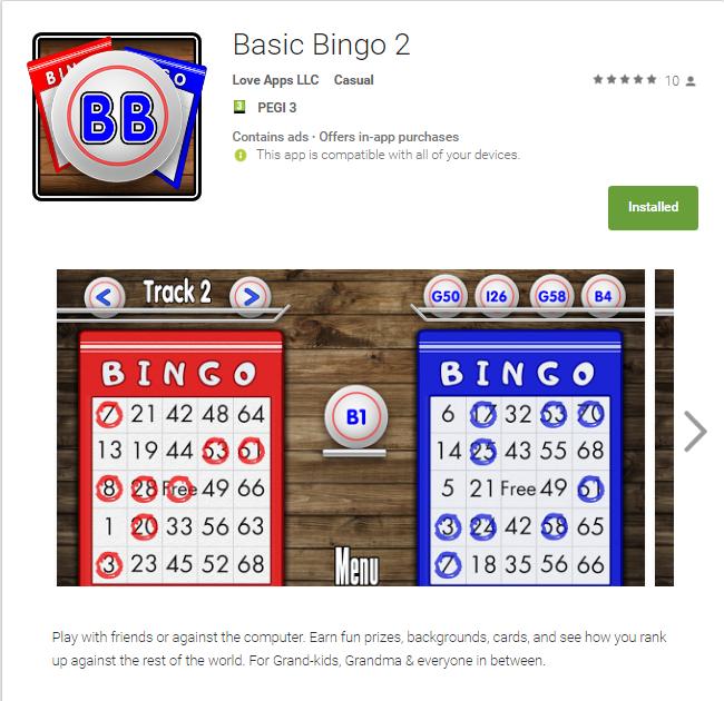 Basic Bingo 2