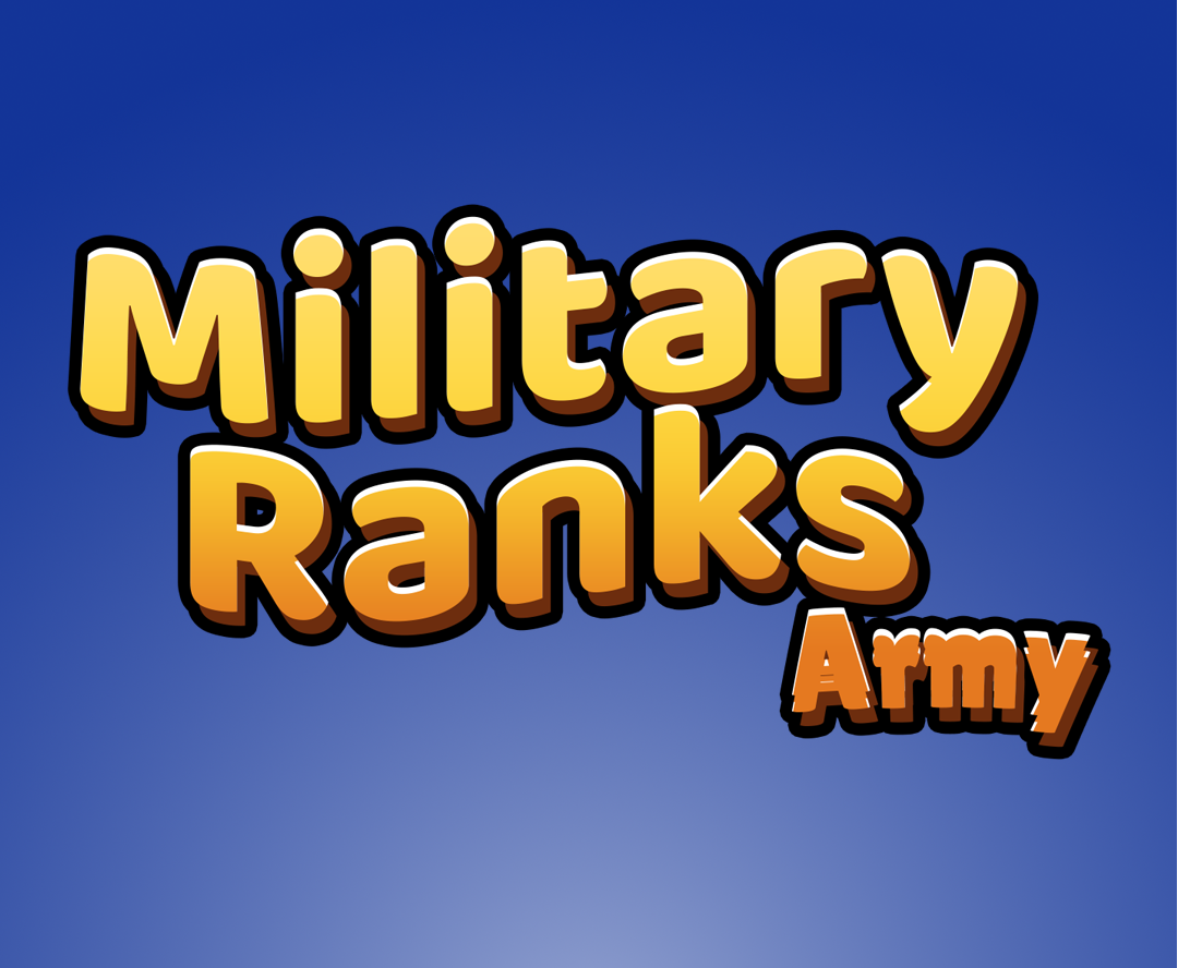 Military Ranks: Army