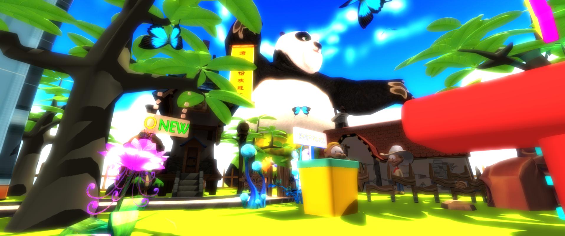 Children's building blocks  VR
