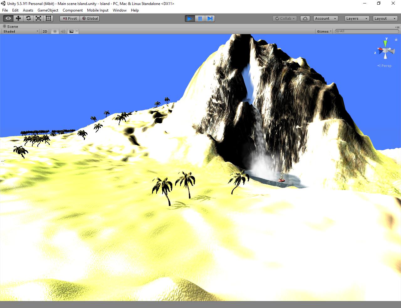 Island prototype.