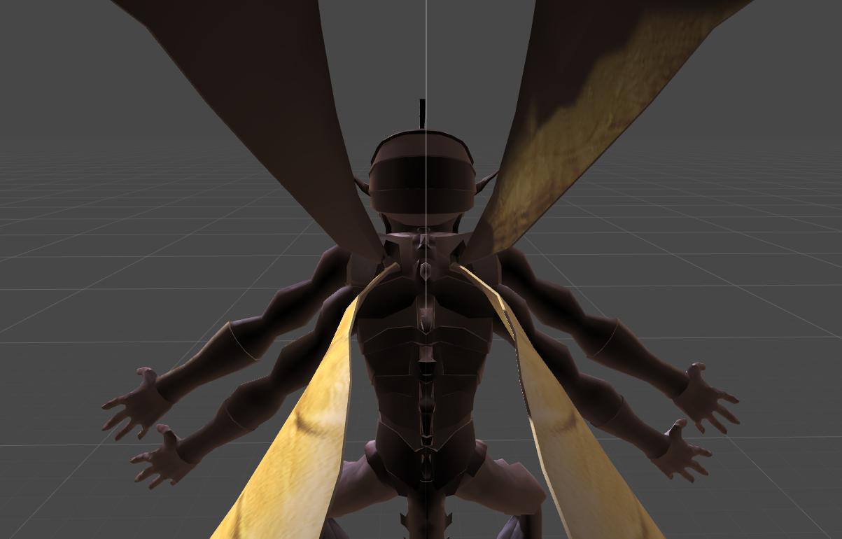 Flying Monster Modeling