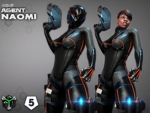 Sci-fi Agent Naomi