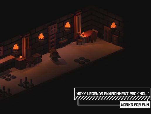 Voxy Legends Environment vol.1