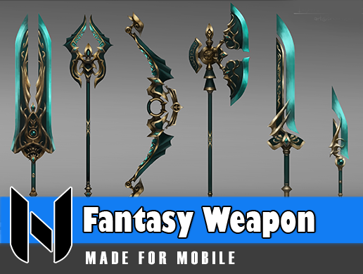 Fantasy Weapon Set 2