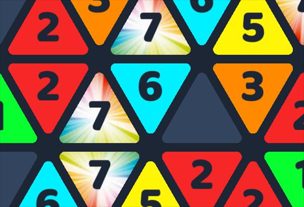 Metrio - Colorful Triangles Puzzle