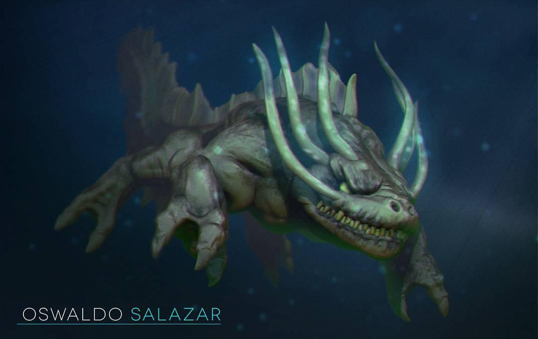 Axolotl Monster
