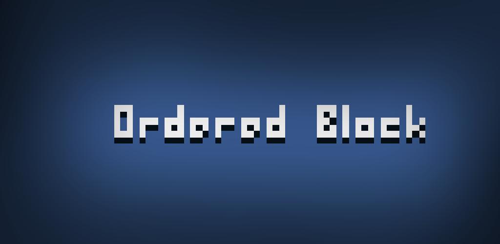 Ordered Block