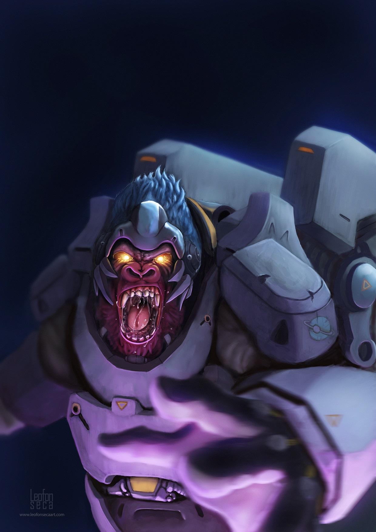 Winston Overwatch - Fan art