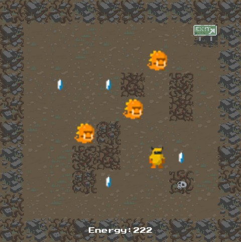 ROBOT NEEDS CRYSTALS [2D]