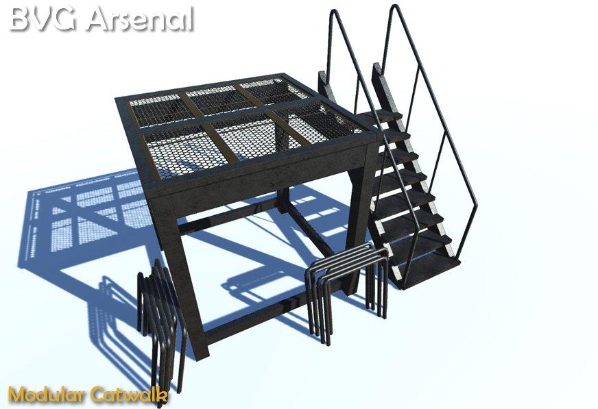 Modular Catwalk