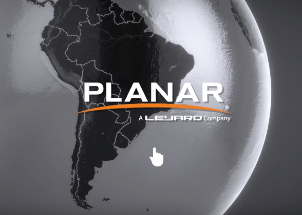 Planar Globe Explorer