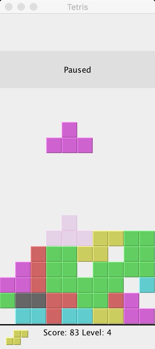 Tetris in Java