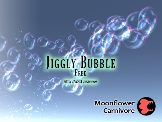 Jiggly Bubble Free