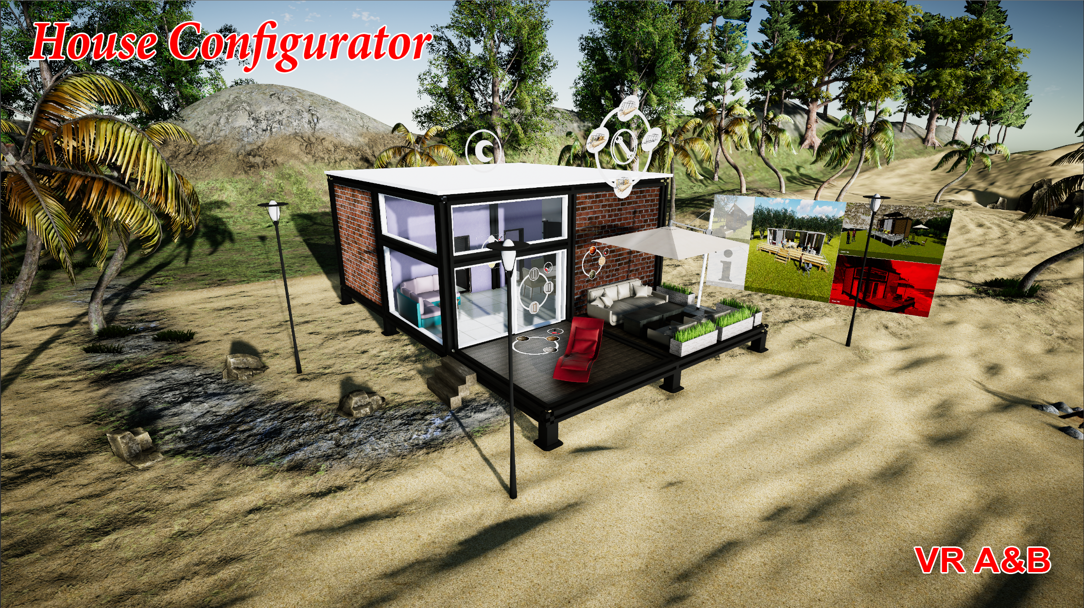 VR A&B House Configurator