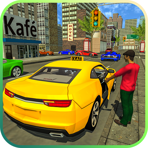 Taxi Driver Duty: Drive n Drop Modern Taxi