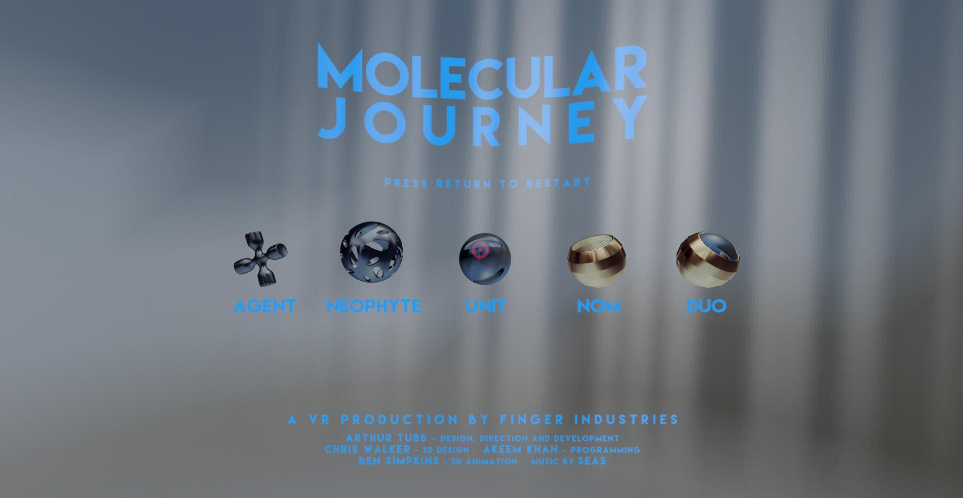 Molecular Journey - Finger Industries