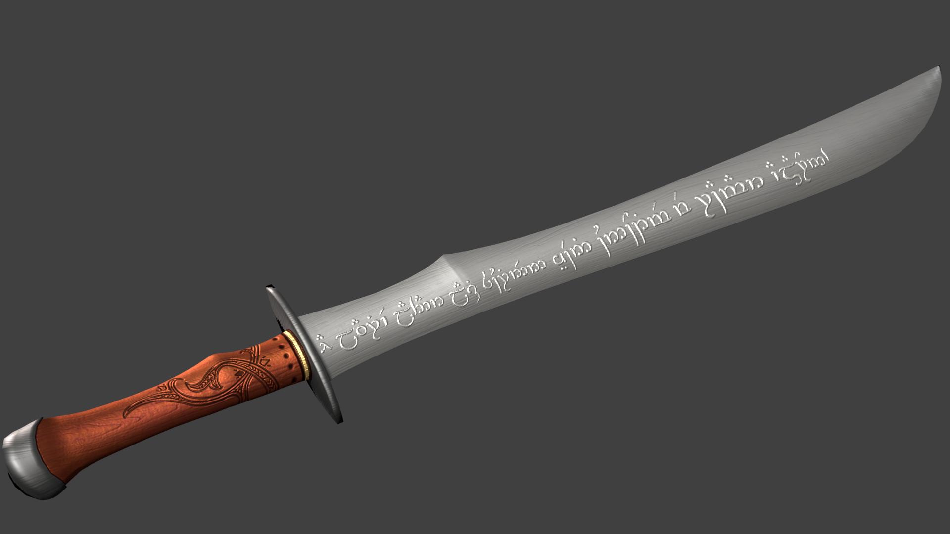 Thorondun, Sword of Glorfindel