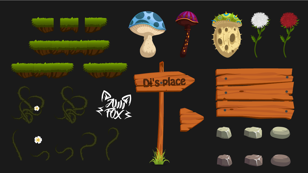 Mini-asset for 2d game