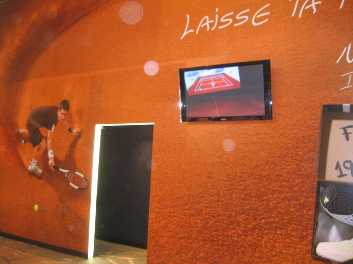 Tennis simulator