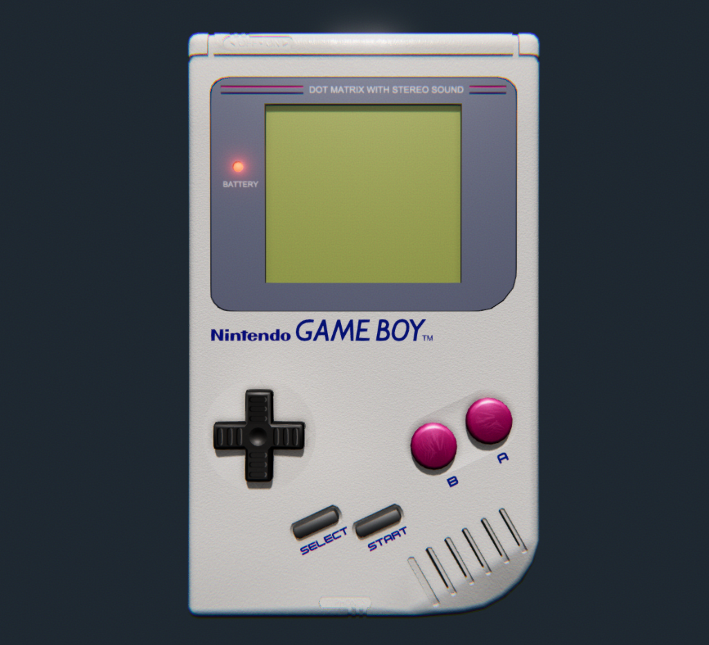 Nintendo Game Boy circa 1989