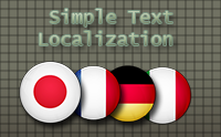 Simple Text Localizer