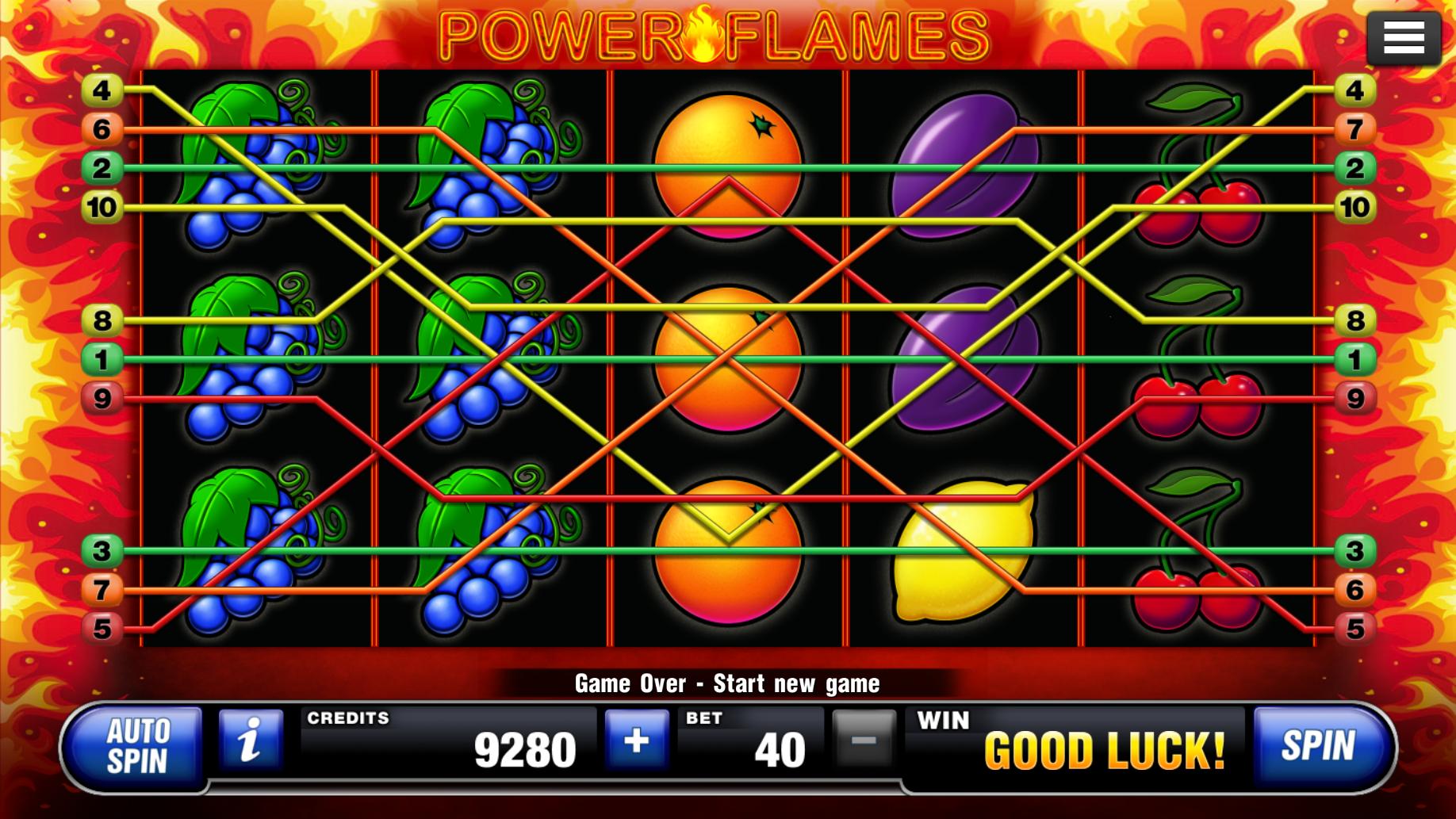 Power Flames Slot