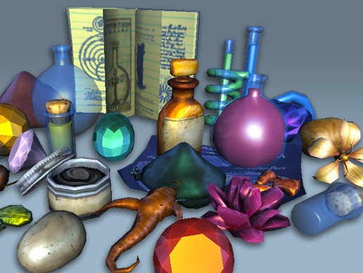 Alchemy Art Pack